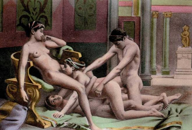 Секс в древней греции видео.